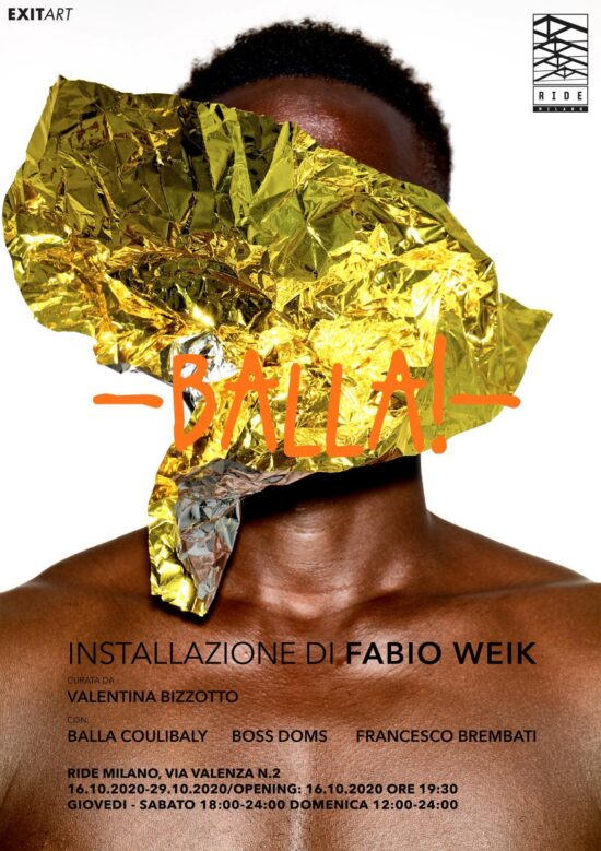 BALLA! by Fabio Weik curated by Valentina Bizzotto